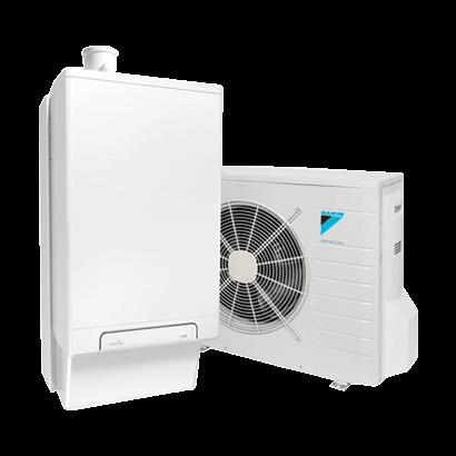 Daikin Intergas Hybride Warmtepomp